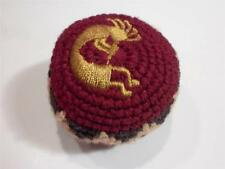 NEW HANDWOVEN KNIT KOKOPELLI HACKY SACK FOOTBAG FROM MADE IN GUATEMALA