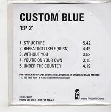 (GQ534) Custom Blue, EP 2 - 2002 DJ CD