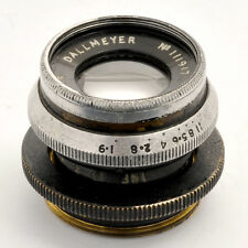 Dallmeyer c-mount 1' 25mm 1:1,9