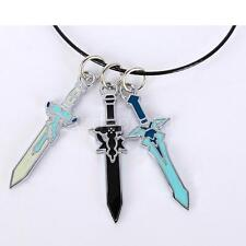 Anime Cosplay Costume Jewelry SAO Sword Art Dark Repulser Asuna Necklace