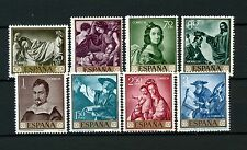 Spain 1962 SG#1479-88 25c-3p Stamp Day Zurbaran Paintings MNH #A3508