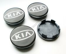 4x KIA Ø 59mm/55mm Alloy Wheel Center Centre Hubs Caps Emblems