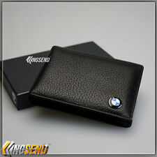 BMW Genuine Leather Driving Licence Wallet Driver's Credit Card Holder ID Case