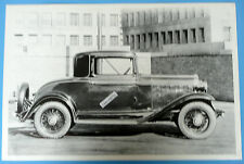 """12 By 18"""" Black & White Picture 1932 Chevrolet 3 Window Coupe"""