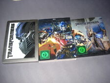 Transformers Trilogie Steelbook geprägt Dark of the Moon Blu Ray Steelbook 1 2 3