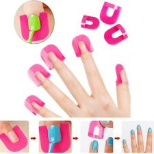 Hot 26pcs Nail Art Manicure Stickers Tips Finger Cover Polish Protector Set