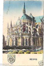 51 - cpsm - La cathédrale de REIMS (H8661)