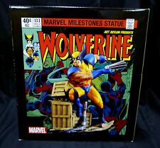 Diamond Select Wolverine Unleashed Statue Art Asylum Marvel Milestone 2006 New