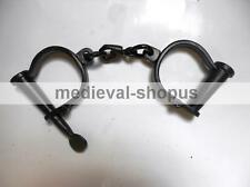 iron handcuff antique style police handcuffs shackles-props