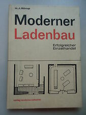 Moderner Ladenbau Erfolgreicher Einzelhandel 1966 Laden Geschäft Architektur
