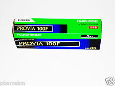 5  x  FUJI  PROVIA  100F  Colour  Slide  Film--35mm/36 exps--expiry: 09/2017