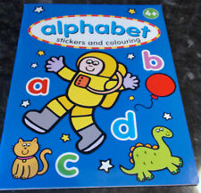 Alphabet Stickers & Colouring Book by Autumn Publishing. Age 4+. 24 available.