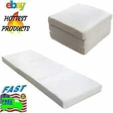 Sleeping Foam Mattress Portable Camping Foldable Guests Dorm Travel Folding Bed