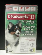 K9 ADVANTIX II for Large Dogs 21-55 lbs (6 PACK)  !!! US EPA APPROVED !!!