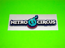 TRAVIS PASTRANA NITRO CIRCUS MOTOCROSS ATV WAKEBOARD SNOWBOARD BMX STICKER DECAL