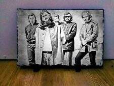 "Canned Heat Sketch Art Portrait on Slate 12x8"" Rare memorabilia collectables"