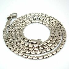 """Charm stainless steel necklace men/women 24""""chain 4mm snake link fashion jewelry"""