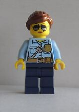 LEGO Female Police Officer - Cop - City Minifigure