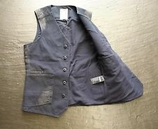 G-Star RAW FAEROES GILET, Aluin Canvas, Mazarine Blue, S *special offer*