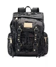 Juicy Couture Backpack Black sequin  NWT $99