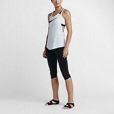 Nike Motion Women's Training Capris XS Black Casual Gym Running Yoga New