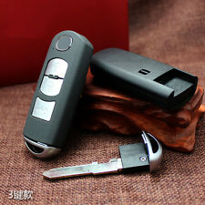 3 Buttons Replacement Key Case Fob Key Shells For Mazda M3 M6 3 6 Keys