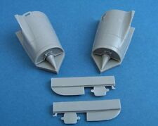 Pavla U48048 1/48 Resin Mirage 2000 Engine air intakes with FOD for Kinetic
