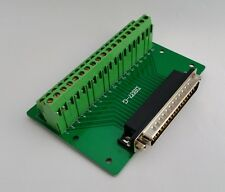 DB37 DSUB 37-pin Male Adapter Breakout Board Connector D19: £14.75 FREE p&p