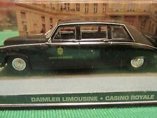 JAMES BOND CARS COLLECTION 049 DAIMLER LIMOUSINE CASINO ROYALE