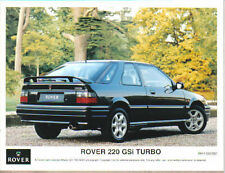 Rover 220 GSi Turbo Original 1993 colour Press Photograph No. RH/1193/382