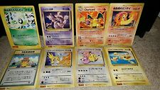 Pokemon Jumbo corocoro 8 Card Lot - Charizard base set jumbo card + more