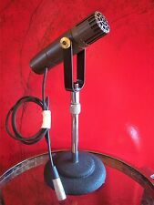 Vintage RARE 1950's RCA Type BK-5B ribbon microphone old antique w cable & yoke
