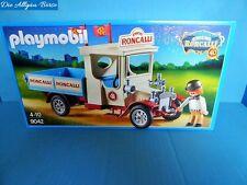 Playmobil 9042 circo roncalli Truck Oldtimer camión 40 años de nuevo Circus MIB misb