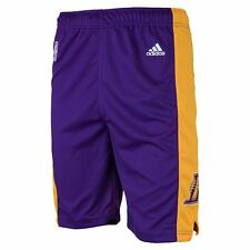 ($28) ADIDAS Los Angeles Lakers nba Basketball Jersey Shorts YOUTH KIDS BOYS xl