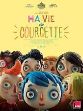 Affiche 40x60cm MA VIE DE COURGETTE (2016) Claude Barras Film d'animation NEUVE