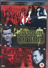 Horror Hotel - The Terror - The Corpse Vanishes DVD