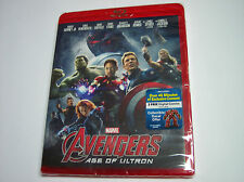 Marvel Avengers Age of Ultron Blu-ray Disc, 2015, RED Case NEW, Sealed