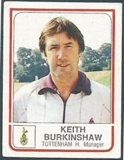 PANINI FOOTBALL 84-#304-TOTTENHAM HOTSPUR-MANAGER-KEITH BURKINSHAW