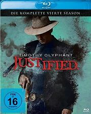 JUSTIFIED, Season 4 (3 Blu-ray Discs) NEU+OVP