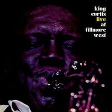 CURTIS KING - LIVE AT FILLMORE WEST (Deluxe) (CD) Sealed