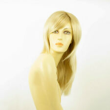 mid length wig for women blond golden wick very light blond:GIULIA 24BT613