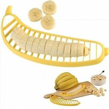 Handy Helpers 2 Pack Banana Slicer - Makes the Perfect Slice Every Time!