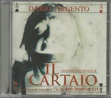 CLAUDIO SIMONETTI  Il cartaio CD OST DARIO ARGENTO SIG