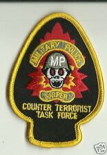 Military Police Counter Terrorist Task Force Patch h