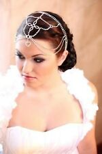 Bridal Hair Goddess Vintage Jeweled Headpiece Forehead