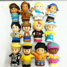 12pcs Fisher-Price Little People Angel Cowboy Painter figure Baby Toy Xmas Gift