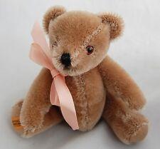 Vintage American Doll Samantha Tan Teddy Bear Original Merrythought Retired