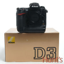 NIKON D3 FX FORMAT FULL FRAME 12.1 MP DIGITAL SLR CAMERA BODY ONLY
