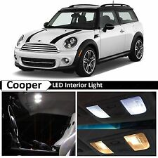 10x White LED Lights Interior Package Kit for 2007-2012 MINI Cooper