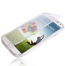 FUNDA TAPA PROTECTOR PANTALLA FLIP GEL COVER SAMSUNG GALAXY S6 EDGE PLUS CLEAR